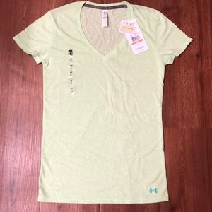 under armour charged cotton heat gear shirt Size S